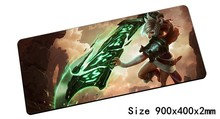 best seller Riven mouse pad 900x400mm pad mouse lol notbook computer mousepad Exile gaming padmouse gamer laptop mouse mats