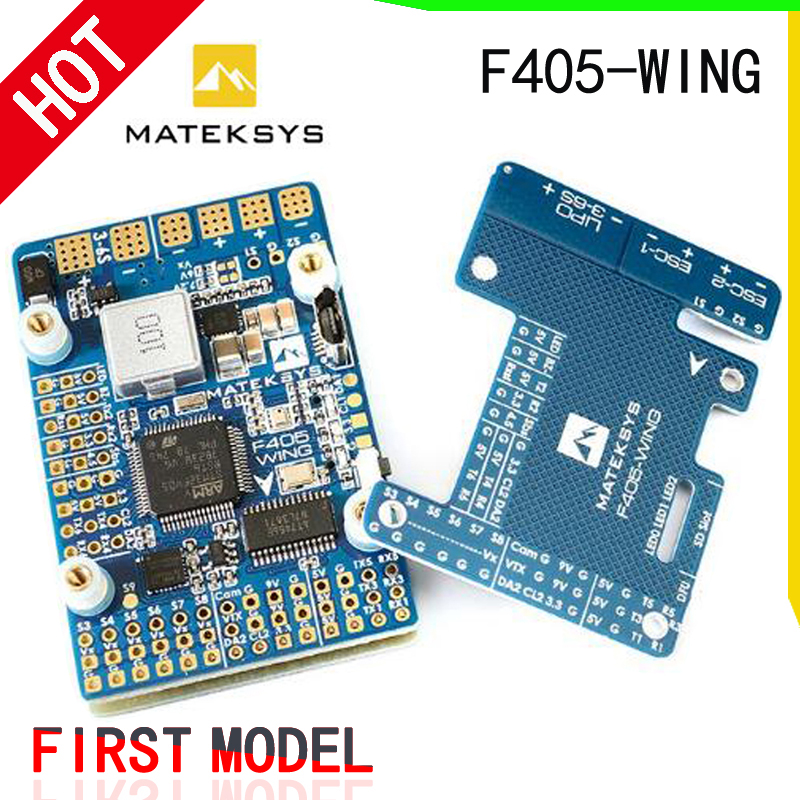 Matek Mateksys Systems F405-WING F405 Flight Controller Built-in inverter for SBUS input RC Drone For RC MulticopterMatek Mateksys Systems F405-WING F405 Flight Controller Built-in inverter for SBUS input RC Drone For RC Multicopter