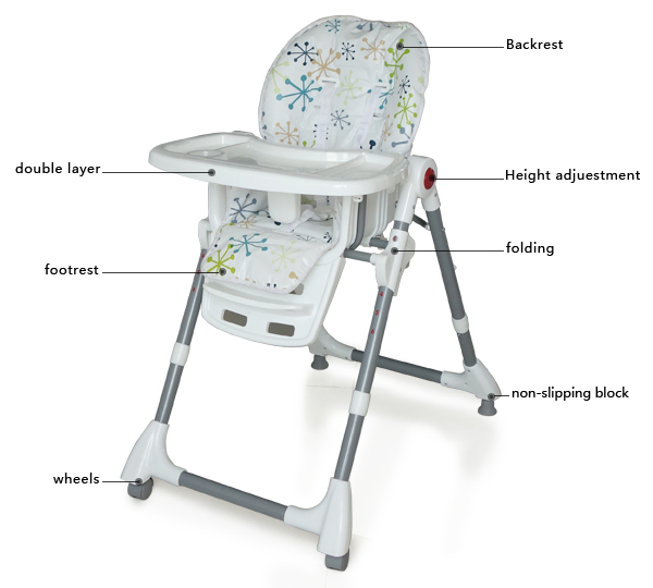 Swivel High Chair Baby Eames Amazon Mutifunctional Adjustable Feeding Folding 3 In 1 Dining Seats Sofa From Mother Kids On Aliexpress Com