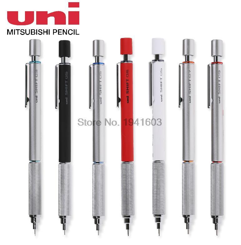 Two Pieces Mechanical Pencil Original Japan Uni SHIFT Pipe Lock M3/M4/M5/M7/M9-1010 0.3/0.4/0.5/0.7/0.9MM адаптер питания 5bites pa70ad 04 70w для ноутбуков acer dell m5 m7 m9 m15 m21 m23