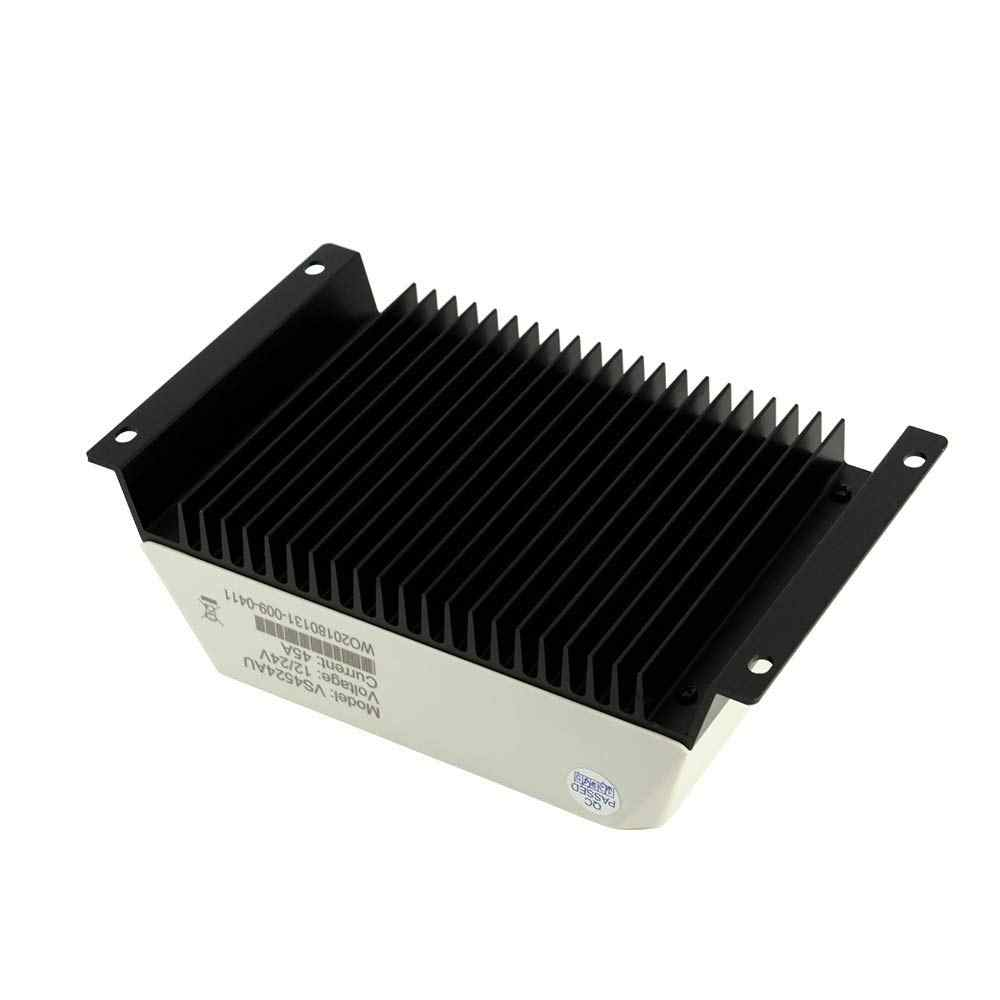 EPever 10A 20A 30A 45A 60A Güneş şarj regülatörü 12V 24V Otomatik VS1024AU VS 2024AU VS3024AU VS4524AU VS6024AU PWM rregulators