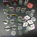 NEW set  High quality transparent plastic stand for 2mm paper card, board game components