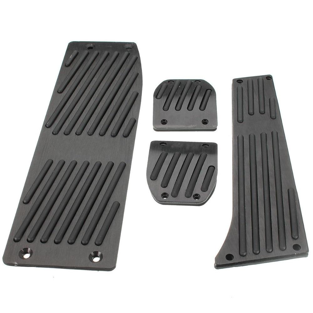 XYIVYG Black Foot Rest Pedals Set Fit for BMW E30 E36 E46 E87 E90 E91 E92 E93 M3 M Tech MT цена