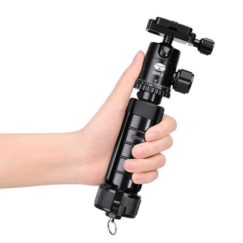 Sirui 3T 35 Table Top Tripod with Ball Head & Case,Youtube vlogging Travel Portable Compact Selfie Video Camera DSLR Tripod