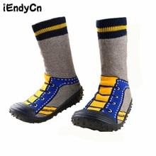 Детские носки унисекс для новорожденных Нескользящие резиновые подошвы Обувь для девочек мальчик Носки для девочек детская зимняя Утеплитель для ног Малыша Носки для девочек hjs7157R