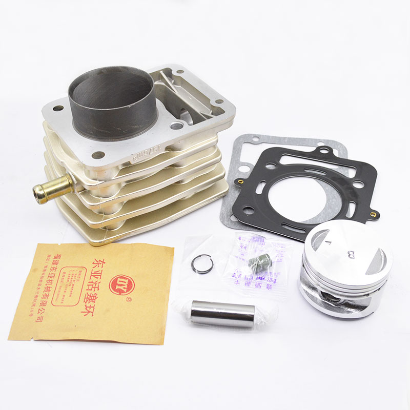 High Quaity Motorcycle Cylinder Kit 62mm Bore For ZONGSHEN LOVOL CG200 CG 200 Water-cooled Engine Spare Parts high quaity motorcycle cylinder kit 62mm bore for zongshen lovol cg200 cg 200 water cooled engine spare parts