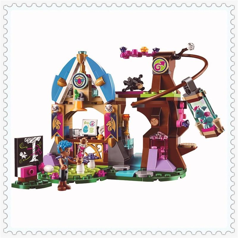 BELA 10501 Elves Elvendale School of Dragons Building Block 233Pcs DIY Educational  Toys For Children Compatible Legoe dragons фигурка toothless сидящий