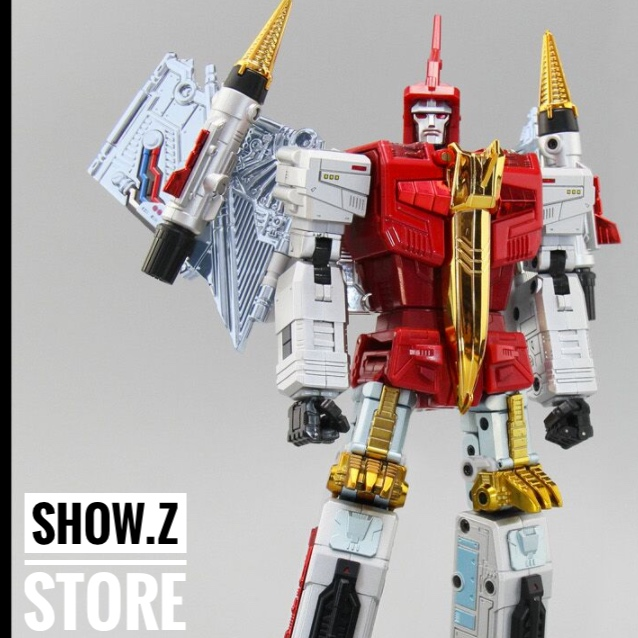 [Show.Z Store] FansToys FT-05XT Soar Comic Red IRON DIBOTS NO.2 G1 Limited Edition MP Transformation Action Figure Instock [show z store] [pre order] fanstoys ft 25 outrider fans toys transformation figure toy