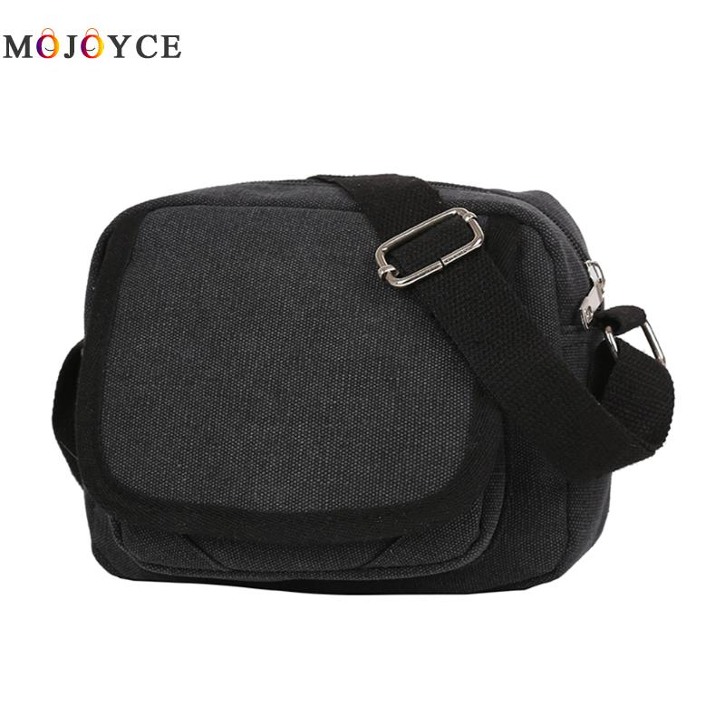 Durable Vintage Canvas Messenger Bags Male Zipper Shoulder Bags Handbags Leisure Travel Bag