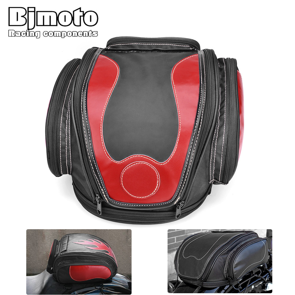 Bjmoto Free shipping 3color Motorcycle motorbike Tank Helmet Bag Saddlebags Tail Bag Moto motorcross Side Tail Helmet saddle bag цены