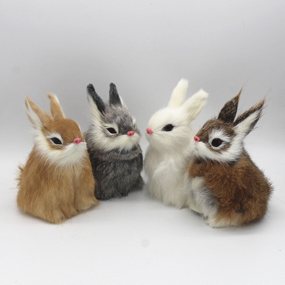 Buy simulation rabbit animal home for Rabbit decorations home
