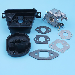 Image 4 - Kit de soporte de filtro de aire para carburador, Colector de admisión para MCCULLOCH MAC CAT 335 435 440, pieza de repuesto para motosierra Walbro Carb