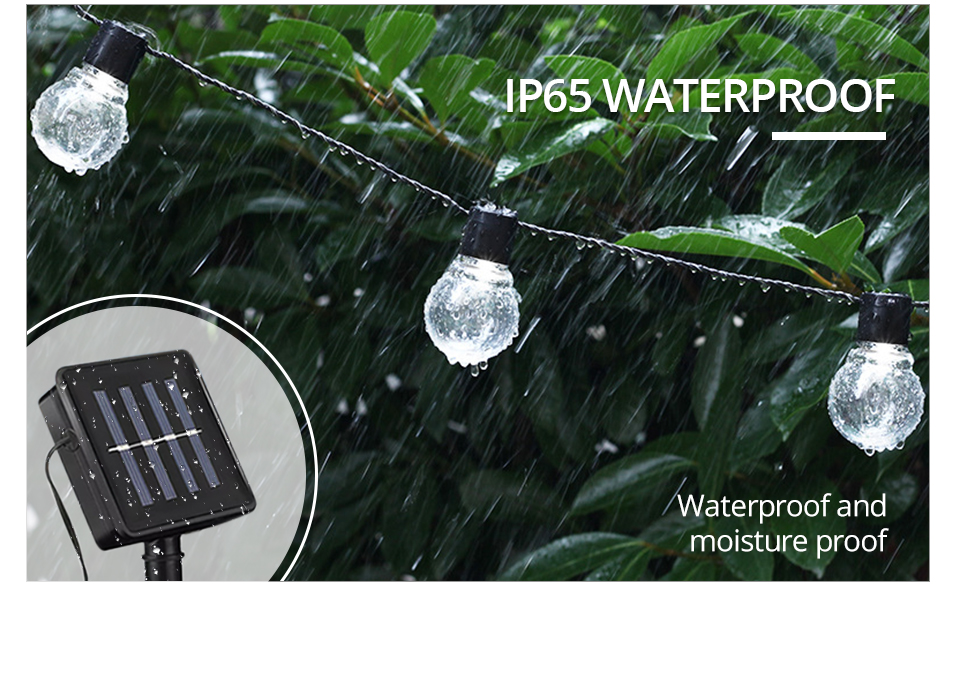 LED Solar Lawn Lamp Rechargeable Solar String Light 2.55M 1020 Bulb Waterproof Outdoor Garden Party Christmas Decor (7)