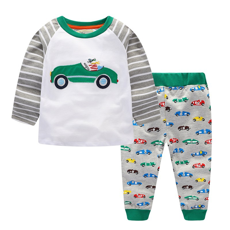 Kidsalon-Children-Clothing-Sets-Boys-Clothes-Kids-Back-to-School-Outfit-Baby-Boy-Clothing-Tracksuit-with-Animal-Applique-2-7T-3