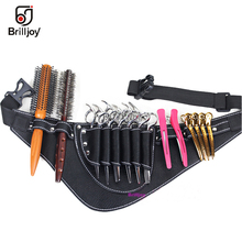 Scissors Bag PU Leather Hair Care Tools Salon Barber tooled Holster Toolkit Hairdressing Pockets Hairstylist Pouch Storage Bags high quality pu leather barber hair scissors pet scissors bag salon hairdressing holster pouch case hair styling tools