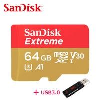 100 Original SanDisk Memory Card Extreme MicroSD UHS I MicroSDXC Class10 U3 100 MB S 32GB