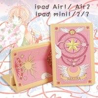 Косплей аниме card captor sakura cardcaptor sakura мультфильм сумка для iPad air 1 2 ipad мин 1 2 3