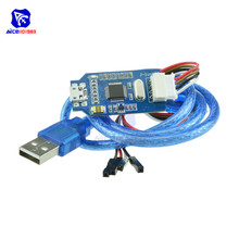 diymore OB ARM Emulator Debugger Programmer Downloader Replace V8 SWD M74 for Arduino J-Link with Micro USB Cable Jumper Wire
