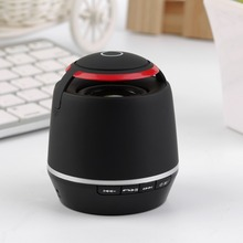 Portable Mini Wireless Bluetooth Receiver Speaker Stereo Sound Music Subwoofer Speaker Support FM Radio TF with Mic for Phone La