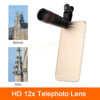HD 12X Optical Zoom Telephoto Lens For IPhone 6 6s 7 Plus 5 5s 5c 4