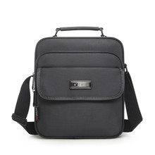 Hoge Kwaliteit Aktetas Mannen Kleine Messenger Bag Man Waterdichte Oxford Zakelijke Handtassen Vrouwen Mini Schoudertas Voor 9.7 Inch Ipad