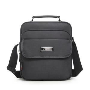 Image 1 - Wysokiej jakości aktówka mężczyzna mała torba mężczyzna wodoodporny Oxford biznes torebki kobiety Mini torba na ramię dla 9.7 Cal Ipad