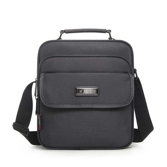 Wysokiej jakości aktówka mężczyzna mała torba mężczyzna wodoodporny Oxford biznes torebki kobiety Mini torba na ramię dla 9.7 Cal Ipad