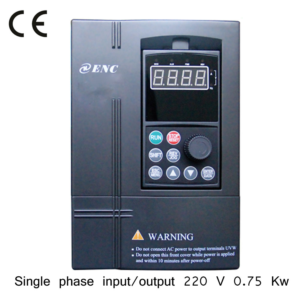 Enc Single Phase Electric Motor 50hz 220v 1 Hp Ac Drive