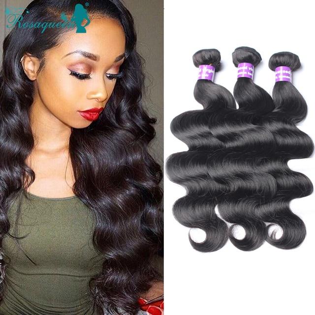 Unprocessed Eurasian Virgin Hair Body Wave 4 Bundles Eurasian Body Wave 100% Cheap Human Hair Weave Rosa Queen Hair Bundles