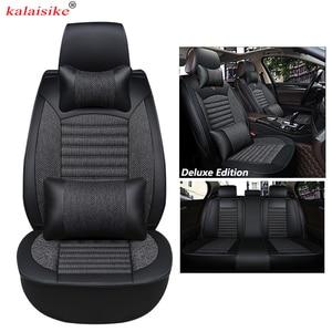 Image 2 - Kalaisike Universal Autositzbezüge für Citroen alle modelle c4 c5 c3 C6 Elysee Xsara C quatre Picasso auto styling zubehör