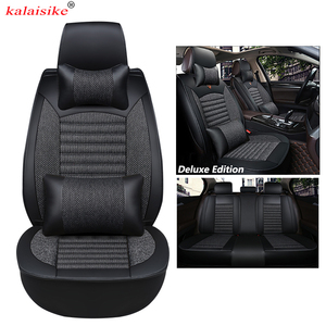 Image 2 - kalaisike Universal Car Seat Covers for Citroen all models c4 c5 c3 C6 Elysee Xsara C Quatre Picasso auto styling accessories