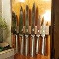 <font><b>XYj</b></font> идеальный набор кухонных ножей из нержавеющей стали, Японский стальной Ультра острый нож повара 7Cr17mov лезвие легкая ручка