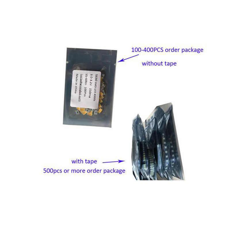 100 pezzi 3535 perline SMD 3V per retroilluminazione LED TV