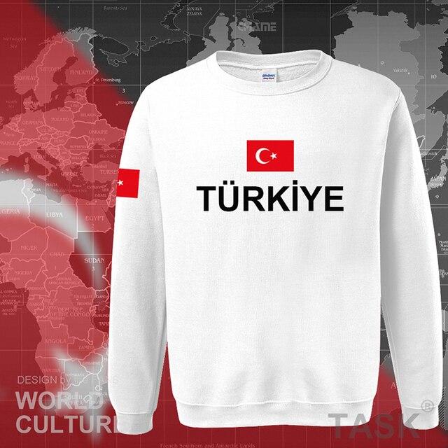 كنزة رياضية رجالية بغطاء للرأس موديل 2017 من تركيا ملابس خروج جديدة للهيب هوب سترات رياضية بعلم الأمة التركية من الصوف للأتراك TR