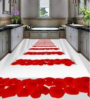 Home Decoration 3d floor painting wallpaper Stairs rose floor 3d floor painting wallpaper pvc floor wallpaper