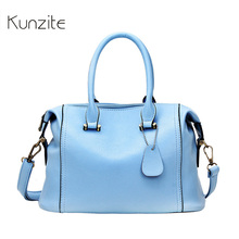 Kunzite Brand Women New Boston Crossbody Bags Luxury Handbags Women Bags Designer High Quality Sac A Main Femme De Marque 2017