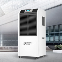 220V 240V Large Capacity 138L/Day Industrial Intelligent Air Dehumidifier Factory Workshop Air Dryer LCD Display program Control