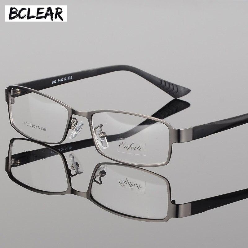 BCLEAR  Eyeglasses Frame Men Computer Optical Eye Glasses Spectacle Frame For Male Transparent Clear Lens 2018