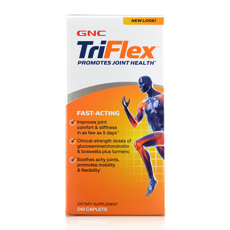 Free Shipping TriFlex FAST-ACTING promotes joint health 240 pcsFree Shipping TriFlex FAST-ACTING promotes joint health 240 pcs