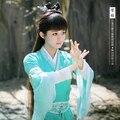 Би Яо женщин Костюм Фея Костюм для 2016 Последним ТВ Играть Zhu Xian Цин Юн Чжи Же Дизайн Косплей костюм