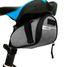B-soul портативная Водонепроницаемая велосипедная седельная сумка, переносная велосипедная сумка для сиденья, велосипедная сумка для хвоста, заднее Велосипедное снаряжение