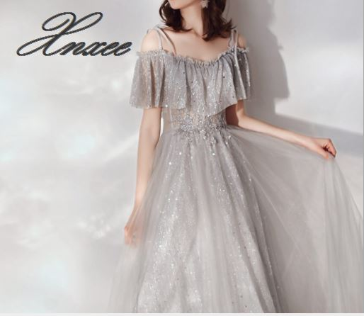 2019 spring new simple generous dress gown shoulder dress in Dresses from Women 39 s Clothing