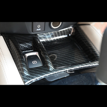 For Nissan X-Trail XTrail T32 Rogue 2014-2018 ABS Carbon Fibre Car Armrest handrail frame Electronic Handbrake Parking brake черепица коньковая цементно песчаная braas графит в комплекте с зажимом