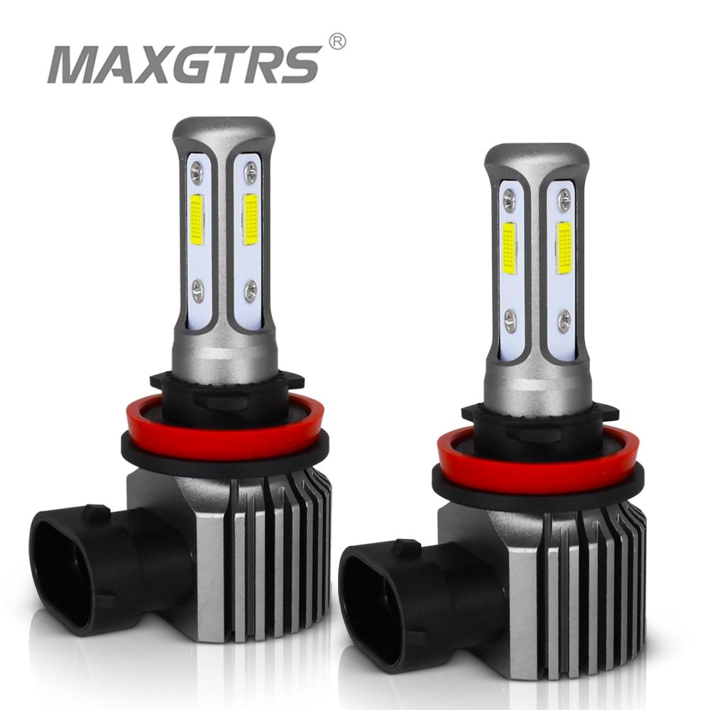 2x H4 H7 H8 H11 9005 HB3 9006 HB4 H16 H1 881 880 3570 Chip Canbus External Led Bulb Car Led Fog Driving Lights Lamp Light Source