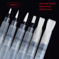 6 PCS Portable Water Color Brush Pen Paint Watercolor Brush Pen