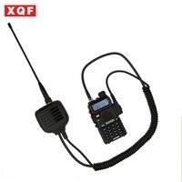 עבור baofeng XQF Baofeng רמקול מיקרופון עבור Ham שני הדרך רדיו מכשיר הקשר UV5R GT3 888s עם אנטנה (1)