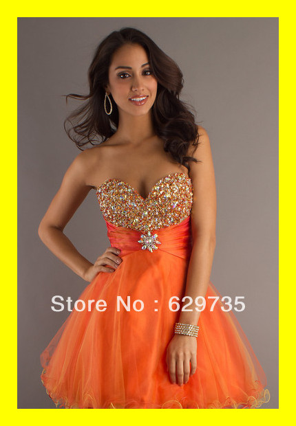 Cheap Designer Dresses Gold Homecoming Sexy Classy Junior Plus Size