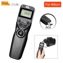 Для Nikon EOS D7100 D7000 D7200 D3100 D3200 D5000 D5100 D5200 D5300 D600 D750 пикселей T3 DC2 ЖК-экраном таймером и Управление спуск затвора по интерфейсу
