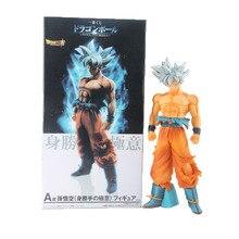 Dragon Ball Super Ultra Instinct Goku Jiren Figure Migatte Toys Model White God Dbz Figurines 11
