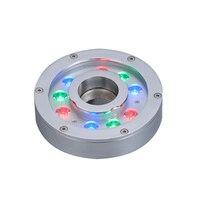9x3 W 9x1 W DC 24 V LED podwodne światła lampa LED podwodne światło na basen w Lampy podwodne LED od Lampy i oświetlenie na